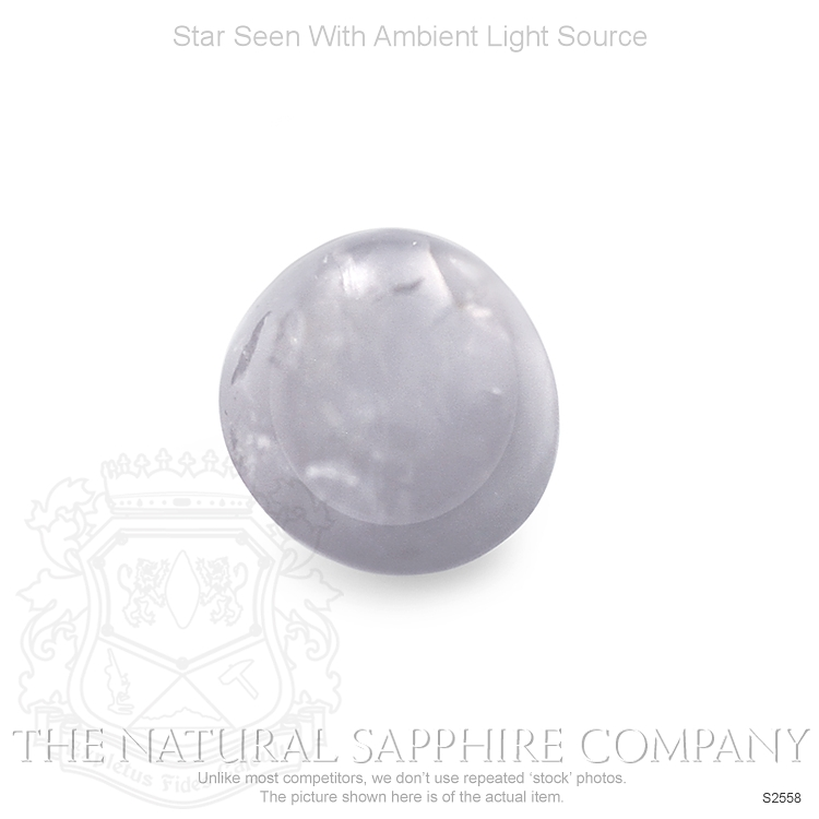 Natural Untreated Star Sapphire S2558 Image 2