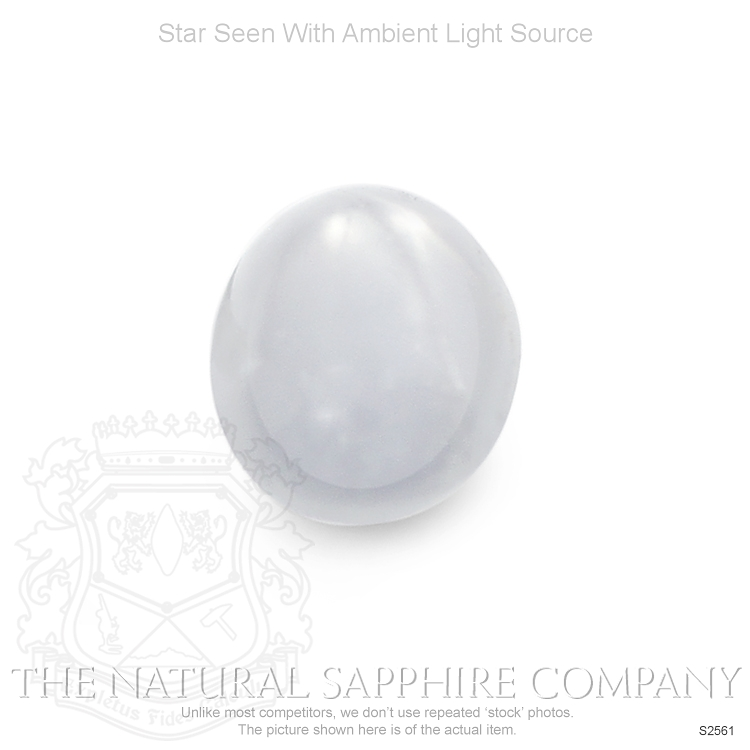 Natural Untreated Star Sapphire S2561 Image 2