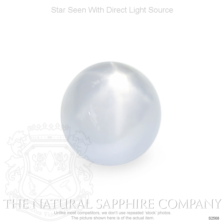 Natural Untreated Star Sapphire S2568 Image