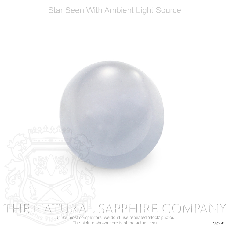 Natural Untreated Star Sapphire S2568 Image 2