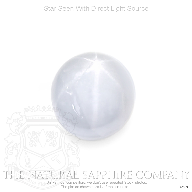 Natural Untreated Star Sapphire S2569 Image