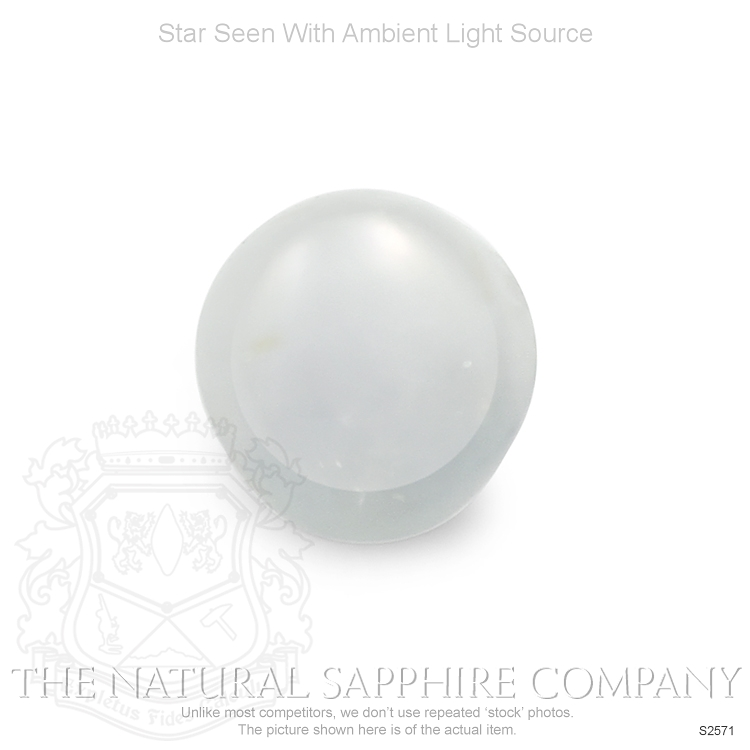 Natural Untreated Star Sapphire S2571 Image 2