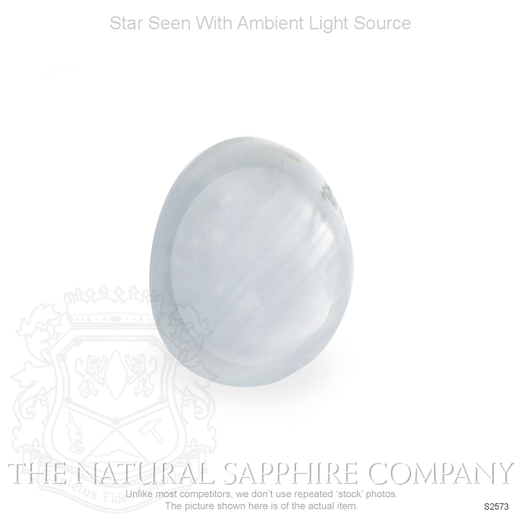 Natural Untreated Star Sapphire S2573 Image 2