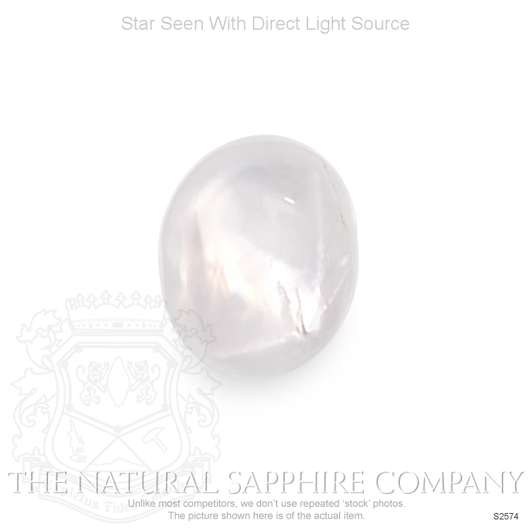 Natural Untreated Star Sapphire S2574 Image