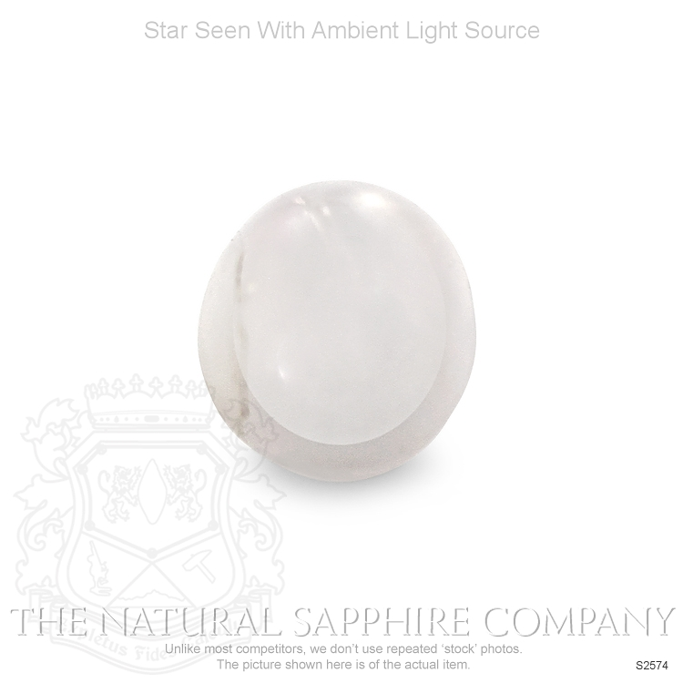 Natural Untreated Star Sapphire S2574 Image 2