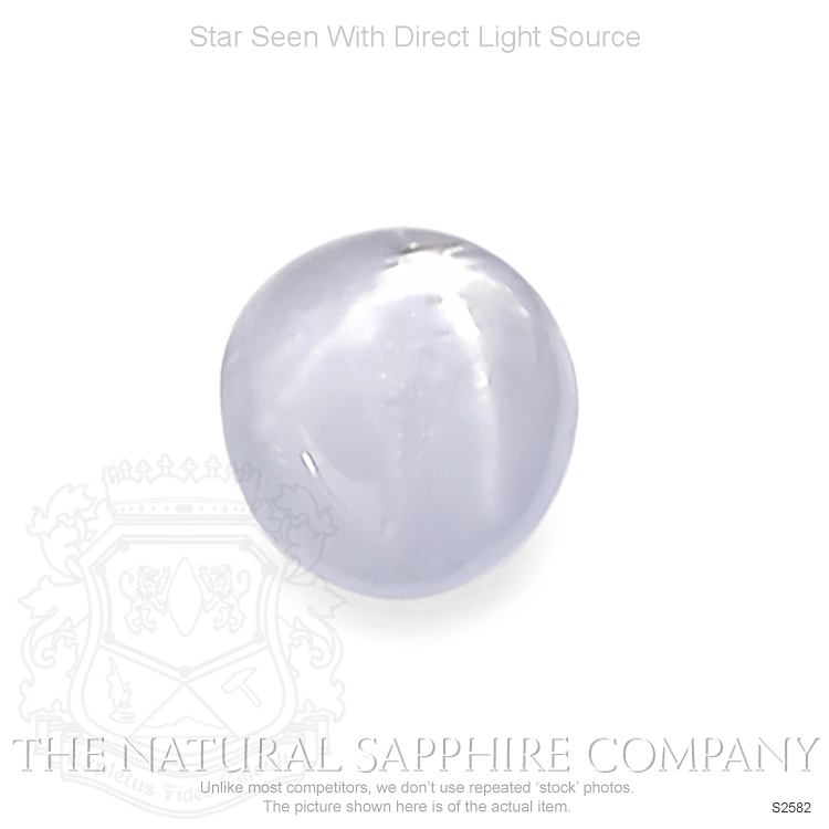 Natural Untreated Star Sapphire S2582 Image