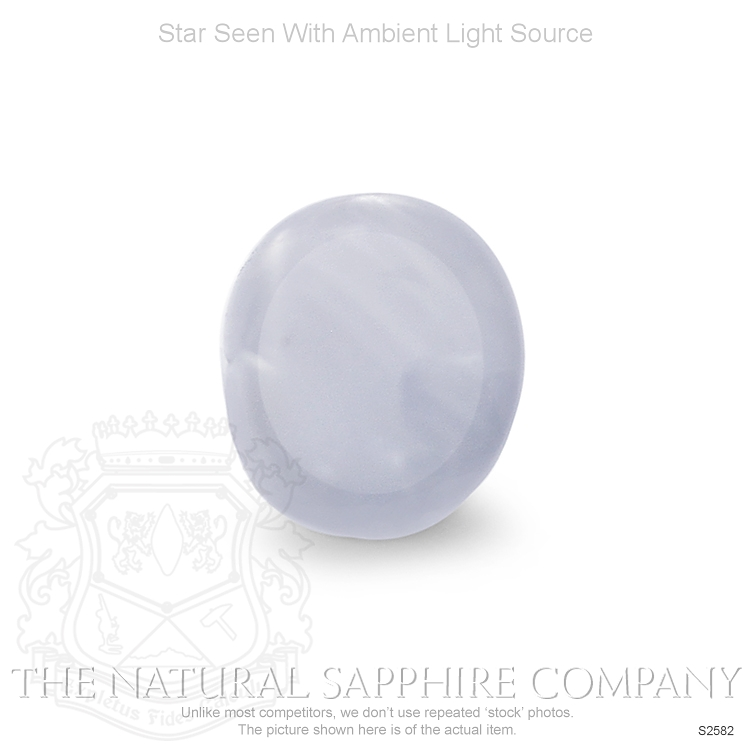 Natural Untreated Star Sapphire S2582 Image 2