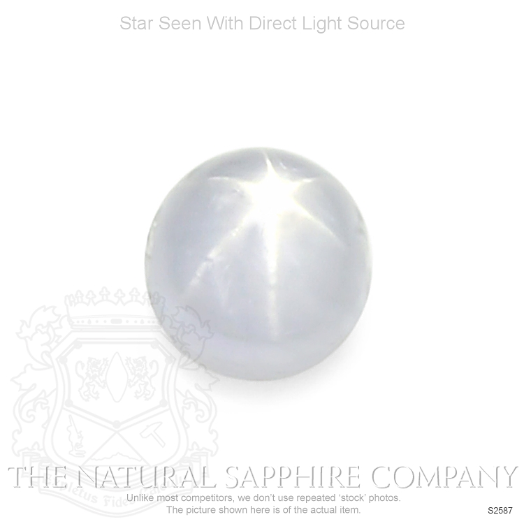 Natural Untreated Star Sapphire S2587 Image