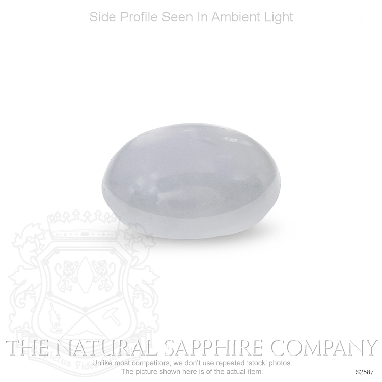 Natural Untreated Star Sapphire S2587 Image 3