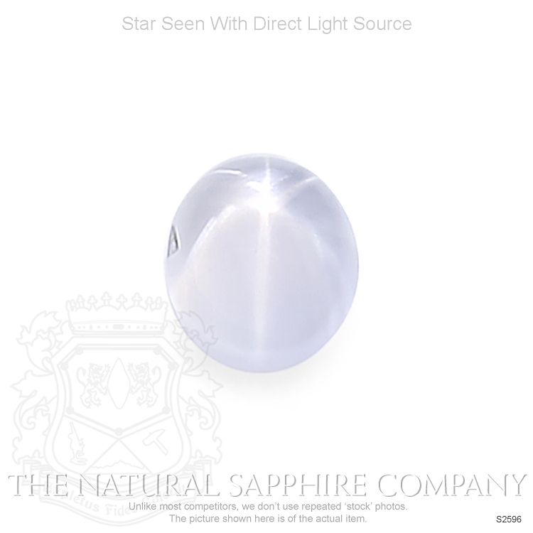 Natural Untreated Star Sapphire S2596 Image