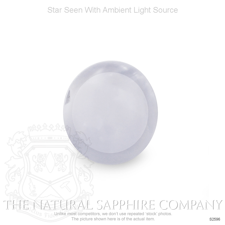 Natural Untreated Star Sapphire S2596 Image 2