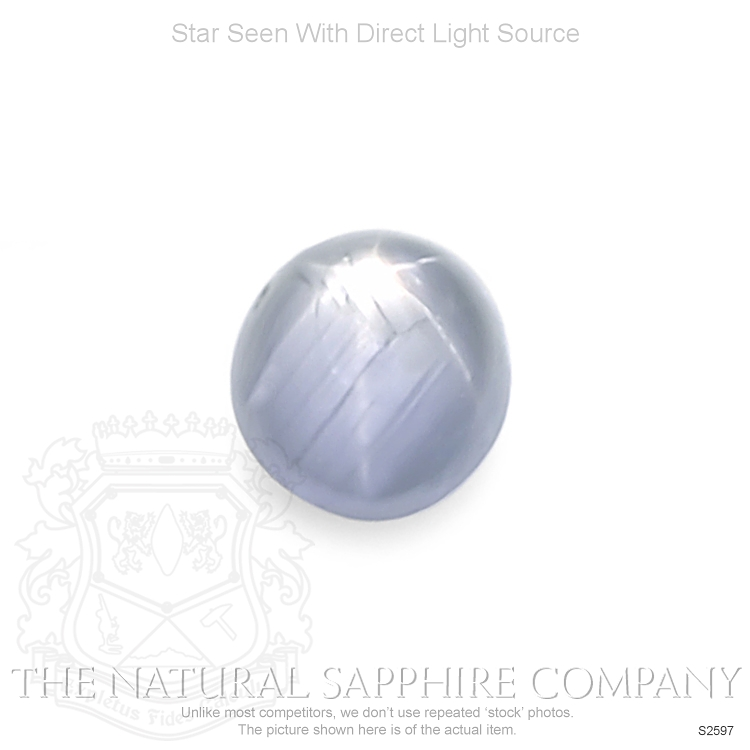 Natural Untreated Star Sapphire S2597 Image
