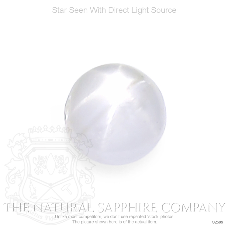 Natural Untreated Star Sapphire S2599 Image