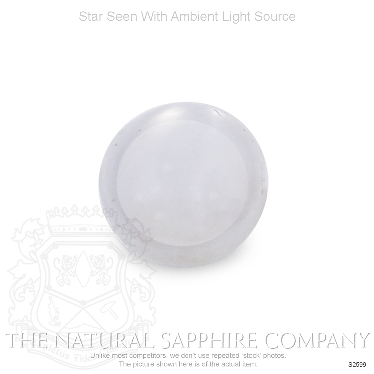 Natural Untreated Star Sapphire S2599 Image 2