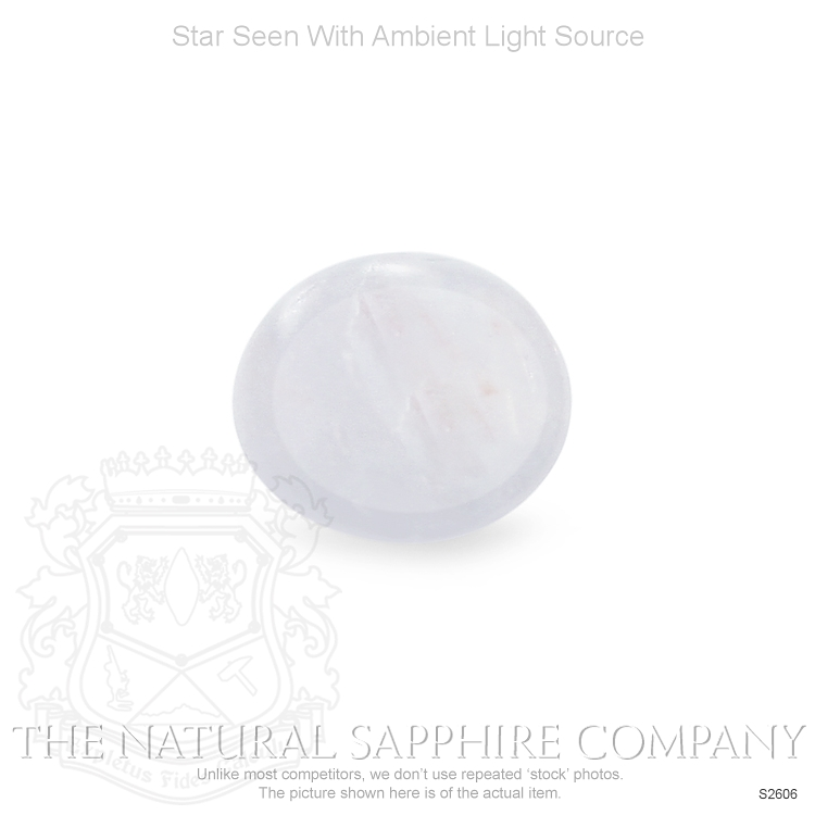 Natural Untreated Star Sapphire S2606 Image 2