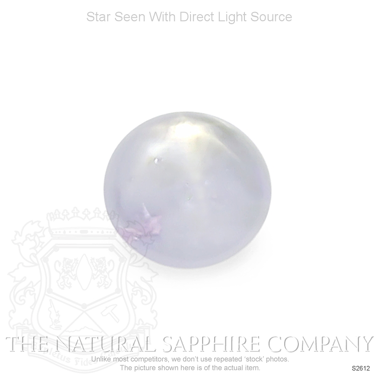 Natural Untreated Star Sapphire S2612 Image