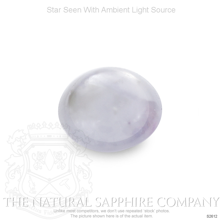 Natural Untreated Star Sapphire S2612 Image 2