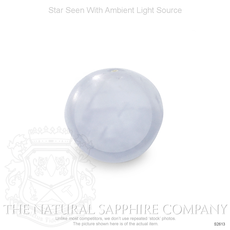 Natural Untreated Star Sapphire S2613 Image 2