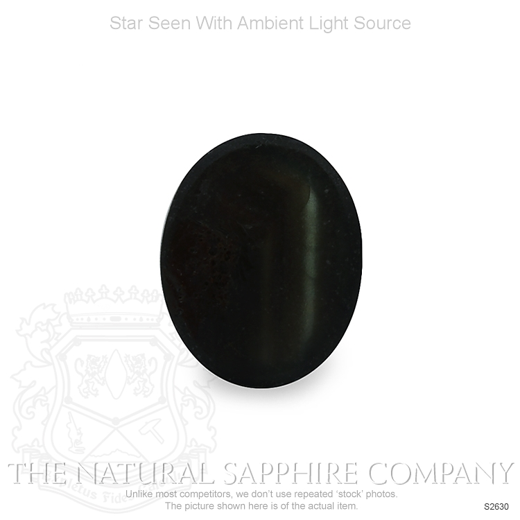 Natural Untreated Star Sapphire S2630 Image 2