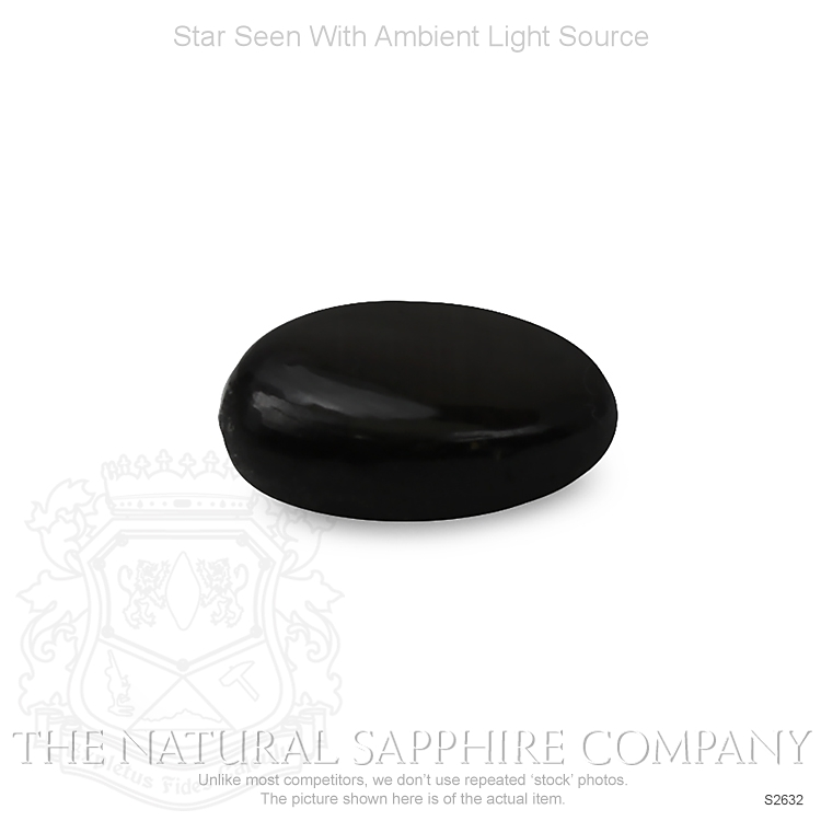 Natural Untreated Star Sapphire S2632 Image 2