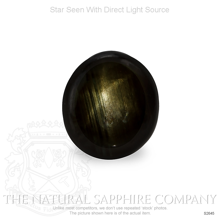 Natural Untreated Star Sapphire S2645 Image