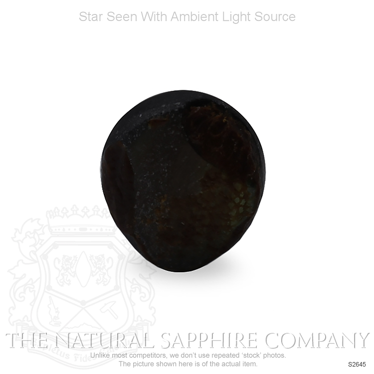 Natural Untreated Star Sapphire S2645 Image 2