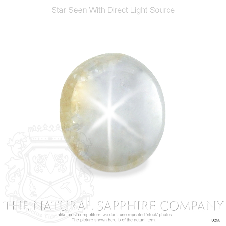 Natural Untreated Silverish Bronze Star Sapphire S266 Image