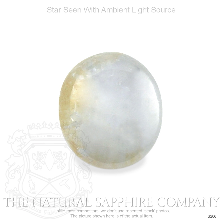 Natural Untreated Silverish Bronze Star Sapphire S266 Image 2