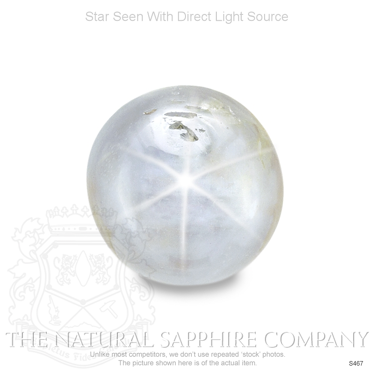 Natural Untreated Blue Star Sapphire S467 Image