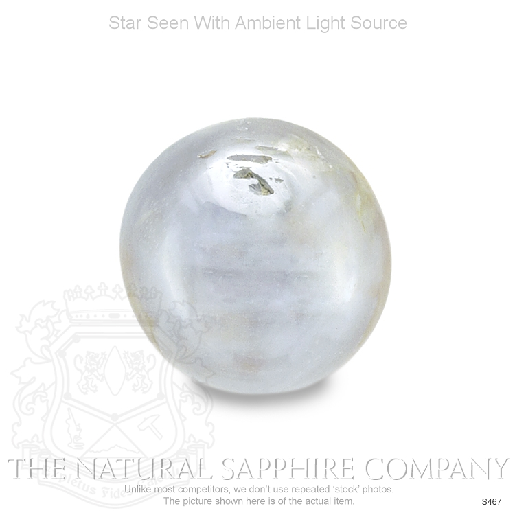 Natural Untreated Blue Star Sapphire S467 Image 2