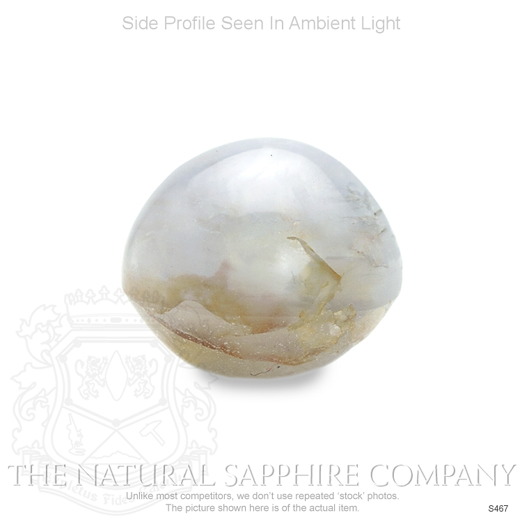 Natural Untreated Blue Star Sapphire S467 Image 3