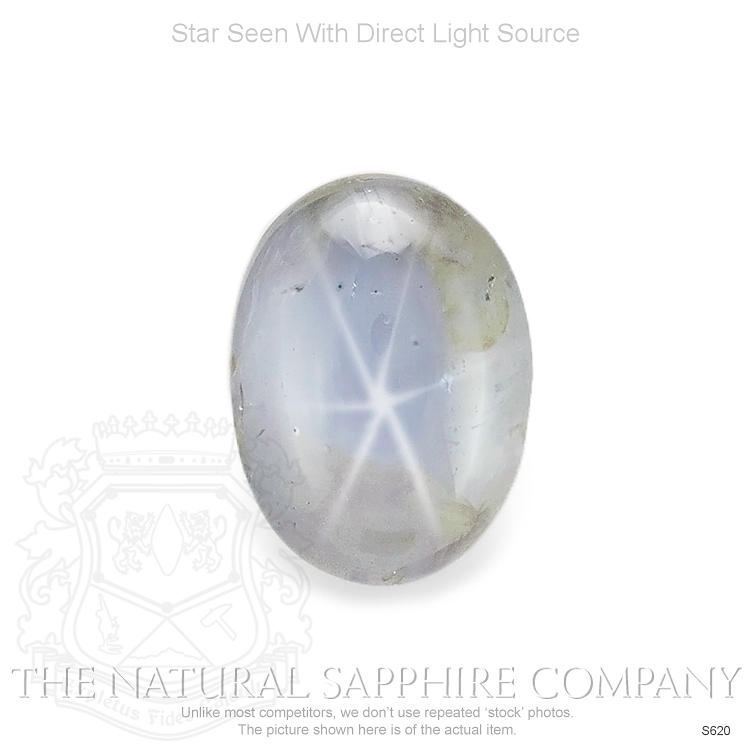 Natural Untreated Blue Star Sapphire S620 Image