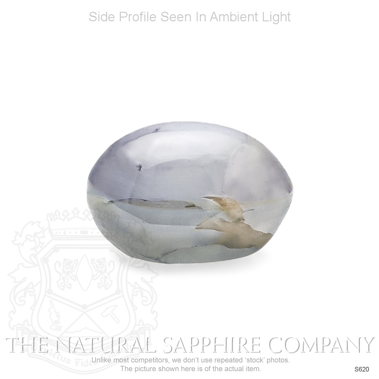 Natural Untreated Blue Star Sapphire S620 Image 3