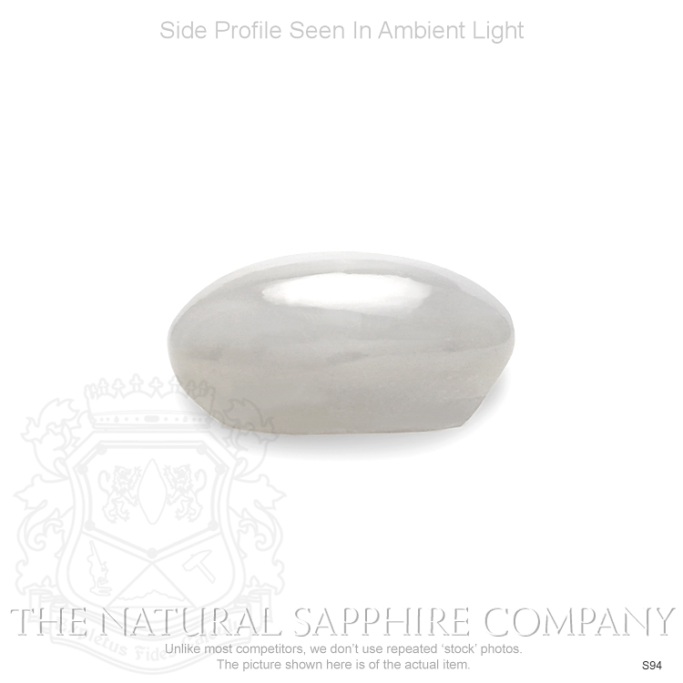 Natural Untreated White Star Sapphire S94 Image 3