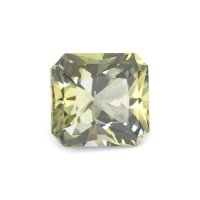 3.11ct Ceylon Radiant Greenish Yellow Sapphire - U10025