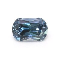 0.70ct Montana Cushion Greenish Blue Sapphire - U10514