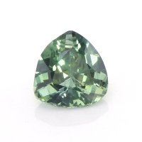 0.59ct Montana Trillion Yellowish Green Sapphire - U10528