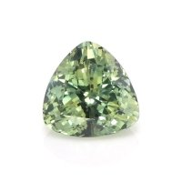 0.57ct Montana Trillion Yellowish Green Sapphire - U10530