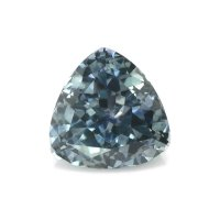 1.24ct Montana Trillion Greenish Blue Sapphire - U10533
