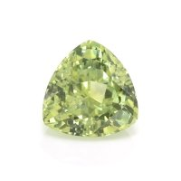 0.89ct Montana Trillion Yellowish Green Sapphire - U10534