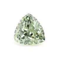 1.65ct Montana Trillion Yellowish Green Sapphire - U10538