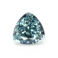 0.47ct Montana Trillion Greenish Blue Sapphire - U10539
