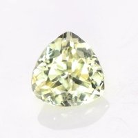 0.45ct Montana Trillion Greenish Yellow Sapphire - U10547