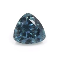 0.69ct Montana Trillion Greenish Blue Sapphire - U10551