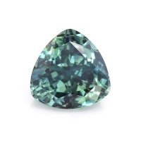 0.70ct Montana Trillion Greenish Blue Sapphire - U10553