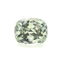 0.95ct Montana Cushion Yellowish Green Sapphire - U10570