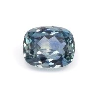 0.52ct Montana Cushion Greenish Blue Sapphire - U10573