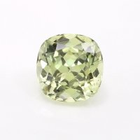 1.11ct Montana Cushion Greenish Yellow Sapphire - U10576