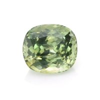 1.74ct Montana Cushion Yellowish Green Sapphire - U10604