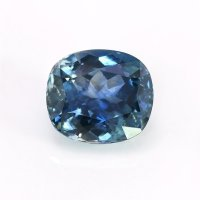 1.97ct Montana Cushion Greenish Blue Sapphire - U10634